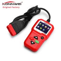 China AL319 car engine tester KONNWEI unique design KW680 car diagnostic tool scanner support XP WIN7 WIN8 WIN10 system on sale