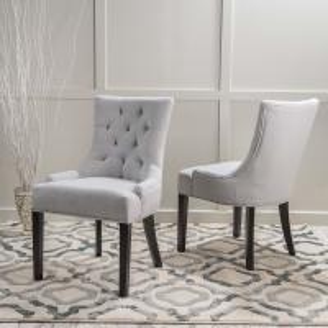 Cheap Mid Century Accent Velvet Chairs , Black Metal Base Vincent Fabric Accent Chair Brown Faux Leather wholesale