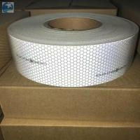 Cheap Sew On SOLAS Reflective Tape , Lifejackets Retro White Marine Tape IMO MED Approvals wholesale