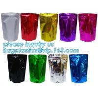 Cheap Metallized Stand Up Pouch Snack Packaging Laminated Aluminum Foil Flexible wholesale