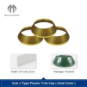 Cheap Gold 2.0cm Led Modules For Channel Letters Aluminum Sheet Making Machine In Coil Tile Trim Cap wholesale