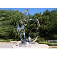 Cheap Custom Size Stainless Steel Sculpture For City Decoration OEM / ODM Acceptable wholesale