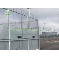 358 Clearvu Mesh Security Fencing3.0 M Height With 2 * 75mm Flanges Easy To Install