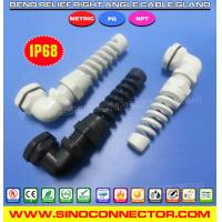 Buy cheap 90 Degree Elbow (Right Angle) Spiral Cable Glands with Flex and Bend Protection from wholesalers
