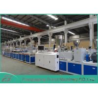 Cheap High Output Pvc Profile Extrusion Line , Pvc Door Manufacturing Machine SJSZ-80/156 wholesale