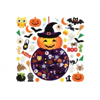 Cheap Indoors EN71 Felt Handicraft Halloween Decor For Kids wholesale