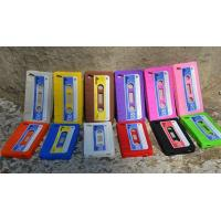 Cheap Colorful Magnetic Tape Shape Iphone / Cell Phone Silicone Cases With OEM Logo wholesale