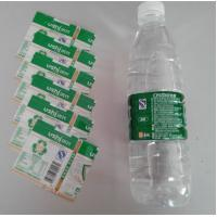 Cheap PVC Water Bottle Shrink Sleeve Labels For Detergent Bottle Packaging wholesale