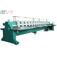 Cheap 15 Heads 9 Needles Computerized Flatbed Embroidery Machine wholesale