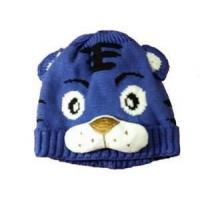 Cheap Fashion wool blended cartoon knitted baby cartoon hat, knitted baby products for baby boy wholesale