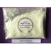 Cheap Gaining Muscle Testosterone Anabolic Steroid Raw Powder Oral Turinabol  CAS 2446-23-3 wholesale
