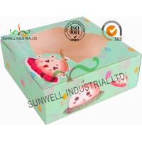 Cheap Disposable Cardboard Food Packaging Boxes , Personalised Cardboard Takeaway Boxes wholesale