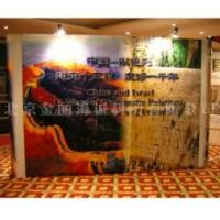 Cheap Advertising indoor dye base or UV flat print pop up banner stands printing wholesale