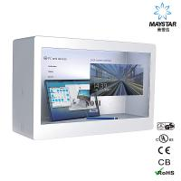 China Modern Design Transparent LCD Monitor / See Through LCD Panel Durable on sale