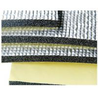 Cheap Physical Closed Cell XLPE HVAC Insulation Foam Alu Foil / Adhesive 10-30mm Thickness wholesale