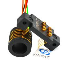 Cheap Gold - Gold Contacts Standard Slip Ring 240V AC / DC Voltage With Separate Rotor Stator wholesale