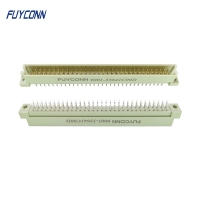 Cheap 2 Rows 16pin Male Vertical PCB 2*32P 64 Pin Eurocard 41612 Connector wholesale
