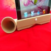 Cheap Detachable Ipad Silicone Skin Case Amplifier / Stand For Apple Iphone wholesale