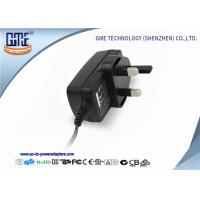 China Qualified  UK Plug 24V 0.5A Switching Power Adapter For Game Player on sale