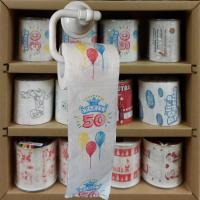 Cheap funny toilet paper roll 3 layer 200 sheets 100% wood virgin pulp printed toilet paper wholesale