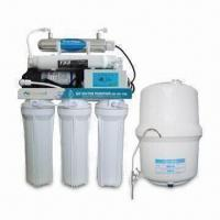 China Home reverse osmosis water purifier with UV sterilizer, 100 to 240V AC, 50/60Hz Power, 3.6 to 58psi on sale
