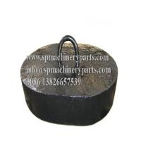 Cheap China Quality Marine & Offshore Supplier Quality Anchor chain & 3.5ton Gray Iron Cast sinkers For Sale wholesale