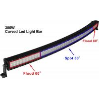 "Curved 52"" 300W CREE LED Car Work Light Bar"