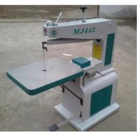 Cheap MJ High speed woodworking jig saw machine with pinned scroll saw blades wholesale