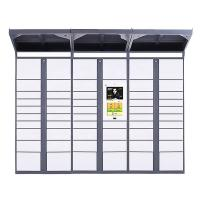 Cheap Middle / High End Parcel Delivery Locker Community Use Smart With Standing Legs wholesale