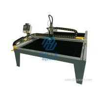 Quality small CNC plasma cutting machine 4'x8'; 5'x10' CNC plasma cutting table; China CNC plasma cutting machine for sale for sale