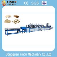 China High Speed Vboard, U Type And Flatboard Paper Edge Protector Making Machine on sale