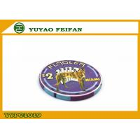 Cheap Purple Miami Ept Ceramic Poker Chips Professional With A Lovely Dog wholesale