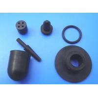 Cheap Black Molded Custom Rubber Parts , Rubber Spare Parts for Automotive or Truck wholesale