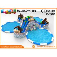 Cheap Gorilla Water Wonderland Inflatable Water Theme Park Air Tight wholesale