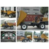 Buy cheap 3 Ton Hydraulic Tipper for Road Construction Project in Africa from wholesalers