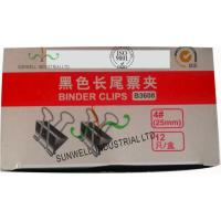 Cheap Custom Printed Office Tails Clips Packaging Boxes Glossing Varnish Finished wholesale