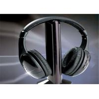 Cheap Noise cancelling headphone  5 in 1 Fm Radio Headset Transmitter Receiver Wireless Headphone wholesale