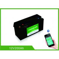 Buy cheap 12 Volt 200Ah Lifepo4 Bluetooth Lithium Battery 2000 Cycles Life With Heating Film from wholesalers