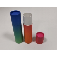 Buy cheap Recyclable Matt Lamination CMYK Pantone Kraft Paper Tubes from wholesalers