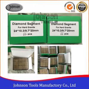 Cheap 2000mm Sandwich Diamond Segments For Harder Granite  High Efficiency wholesale