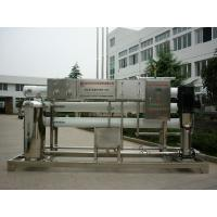 Cheap Fiber Glass Reverse Osmosis Water Treatment System With EDI System1M3 / hr Manual wholesale