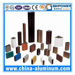 Cheap AA6063-T5 Powder Coating Aluminium Window Profiles (Alu Profile) wholesale