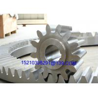 China Forging Steel CNC Machining Spiral Bevel Gears In Automobile / Oil Drilling Rig on sale