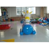 China PVC Inflatable Water Toys / Funny Inflatable Water Ride / Water Horse For Water Parks on sale