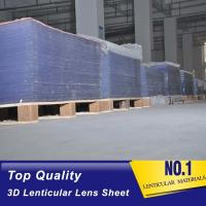 Cheap Factory supply 20LPI 25LPI 30 LPI 40LPI 3D lenticular lens sheets For flip 3D image billboard advertising Cote D'Ivoire wholesale