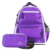 Cheap Purple Sparkle Fashion Sports Backpack Cheerleading Backpack Personalized wholesale