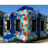 Cheap Plato Commercial Bouncy Castles Birthday Gift Box Inflatable Jump House wholesale