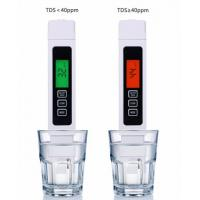 Buy cheap Titanium alloy probe Portable Digital Pen Water Quality Purity Tester TDS Meter from wholesalers
