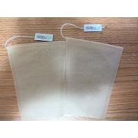 Cheap 100pcs unbleached keystone tea bag with string and tag wholesale