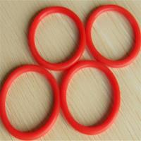 Cheap Red Automobile Rubber Parts EPDM / SILICONE O Ring Seals Shock Absorption wholesale